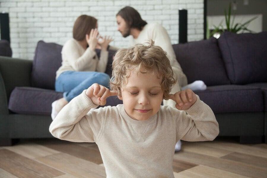 Effekterne af skilsmisse i barndommen og ungdommen