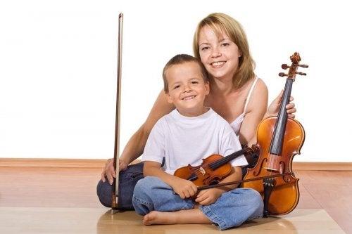 Fordele ved at lære at spille på et instrument