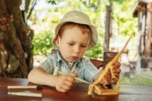 Hvorfor elsker børn dinosaurer?