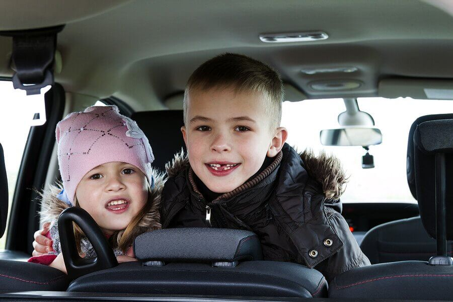 Ordlege til når man rejser med børn