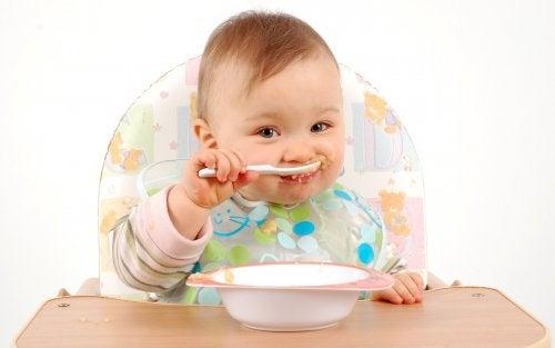 Baby spiser pure