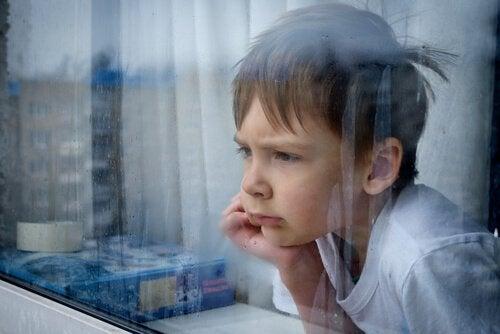 En frustreret dreng