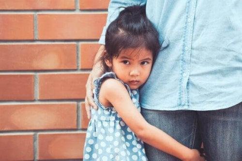 De mest almindelige frygte hos børn
