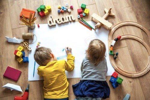 Udviklingsaktiviteter for børnehavebørn