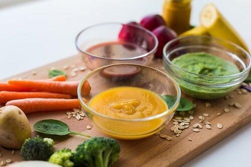 Proteinpuréer til børn: 3 Opskrifter til dig