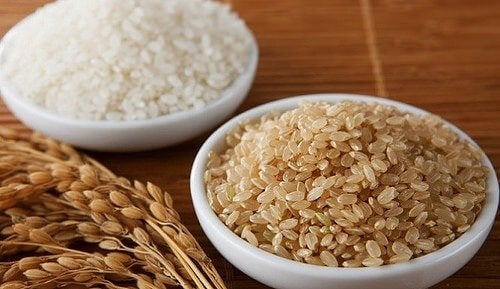 skåle med ris