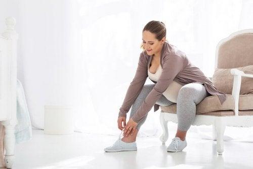 De bedste sko til gravide kvinder