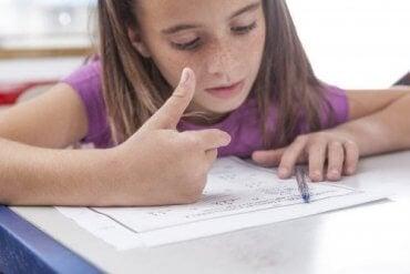 Almindelige tegn på dyskalkuli hos børn