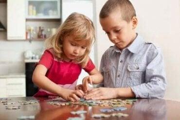 Mentale øvelser, som børn kan lave derhjemme
