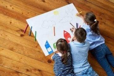 Stimuler børns kreativitet gennem tegninger
