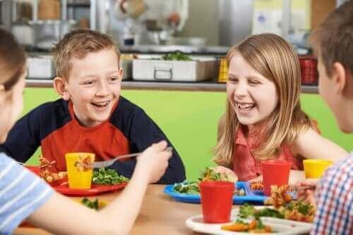 Kantinen står for sund skolemad og uddannelse af madvaner