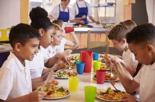 At spise sammen fremmer sunde vaner
