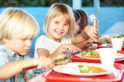 Skolemad og ernæring: En sund og varieret kost