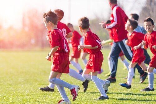Sport er vigtig for børn