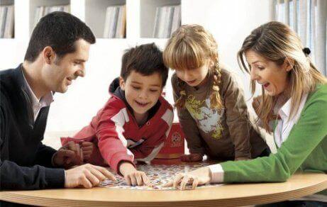 familie der laver aktivitet sammen