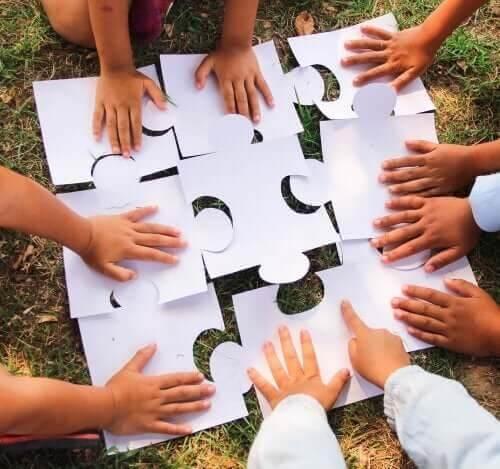 Der er mange fordele ved samarbejdslege