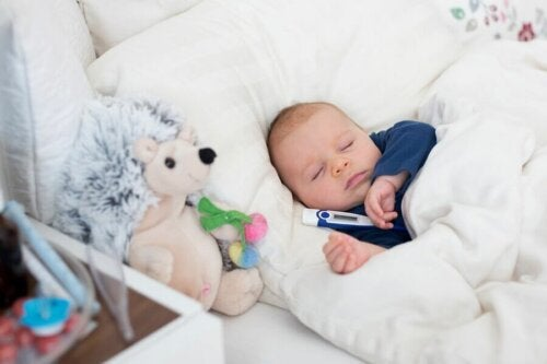 Råd til at sænke feber hos babyer