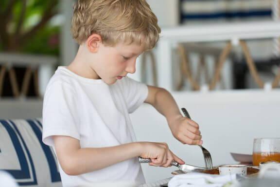 dreng der spiser