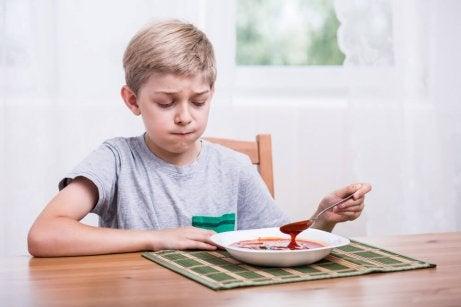 dreng uden appetit