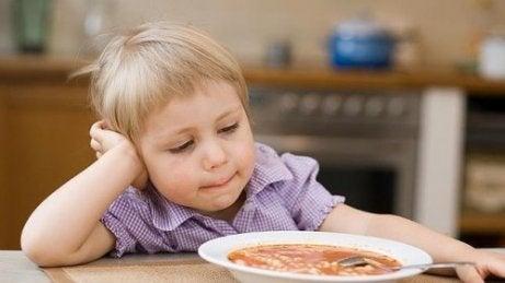 pige uden appetit