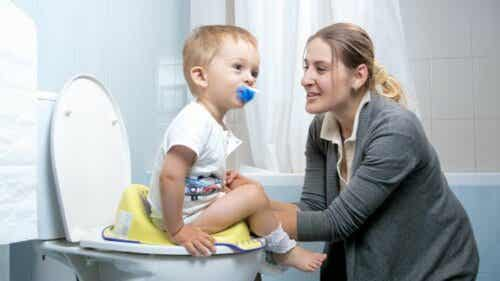 Mit barn bruger stadig ble - bør jeg bekymre mig?