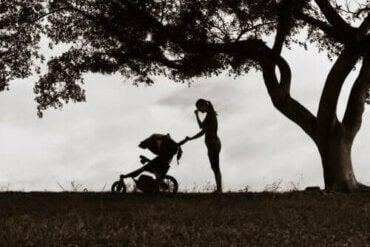 Påvirkningen af moderlig depression hos børn