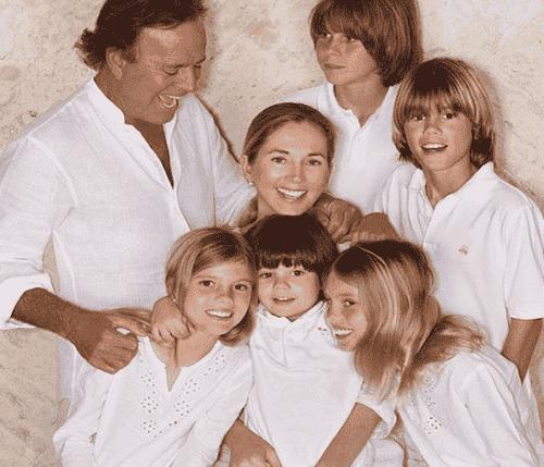 5 kendisser med store familier