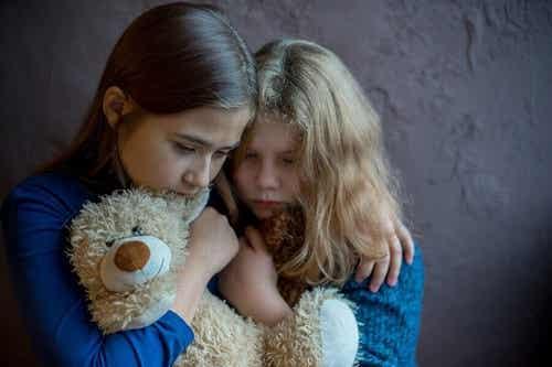 Vold i hjemmet: Sådan påvirker det børn