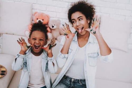 En barnepiges rolle for børn