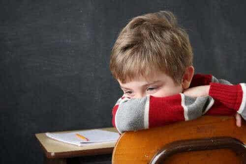 Nederlag i skolen og dets lille relation til intelligens