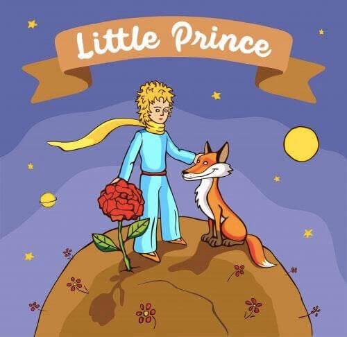 den lille prins og en ræv