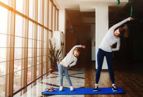 Motion kan hjælpe børn igennem corona-karantænen