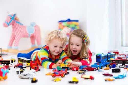 4 almindelige samlinger i barndommen