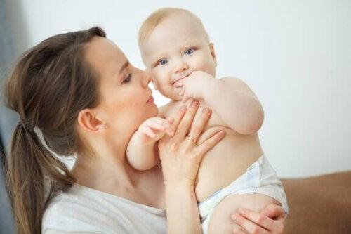 Hvordan dufter en nyfødt?