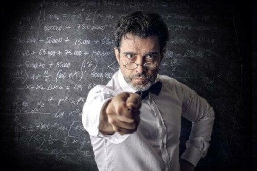 Almindelige karakteristika ved dårlige undervisere
