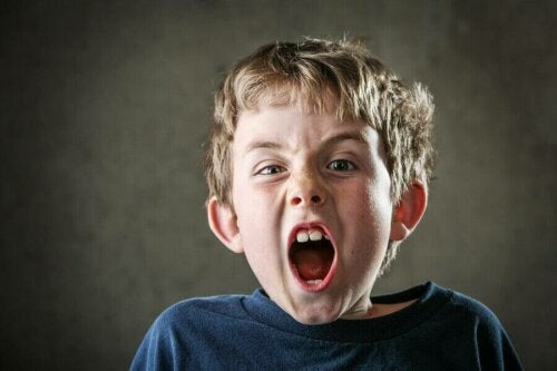Børn skriger for at udtrykke følelser