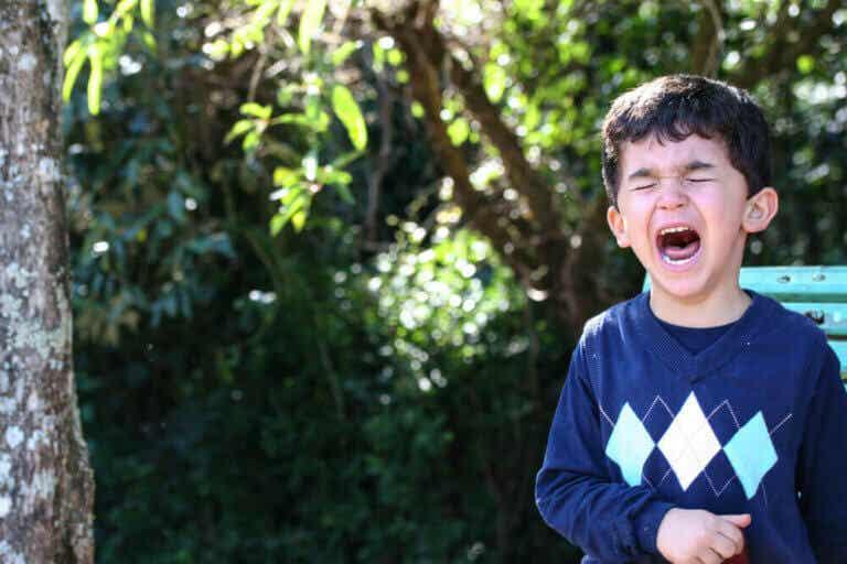 Tegn på, at dit barn skal til at have et raserianfald