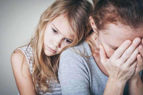 datter der er bekymret for sin mor
