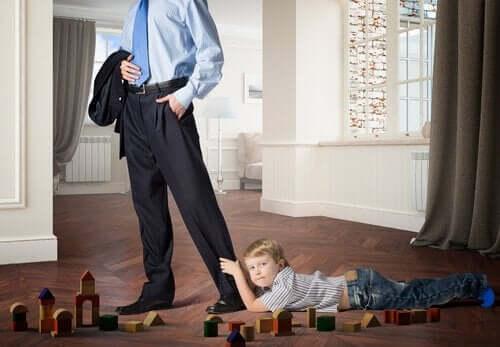 Hvordan mangel på affektion påvirker børn