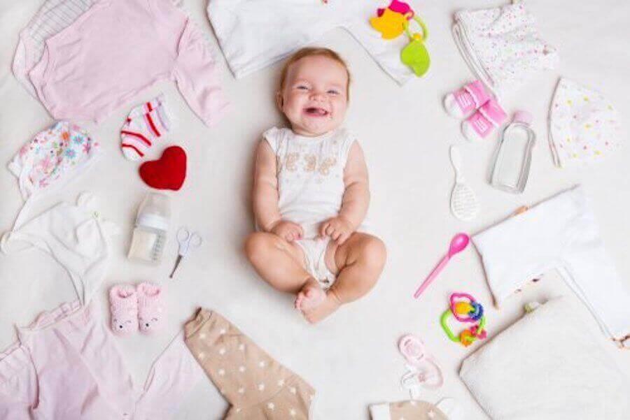 Hvorfor har jeg kun døtre: Glad baby pige.