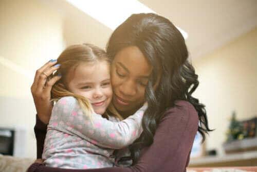 Hvad giver dig en følelse af at være mor?