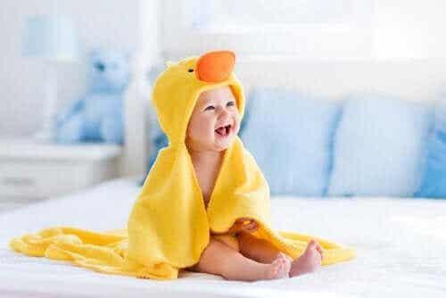 Udviklingsstadier i en babys første år