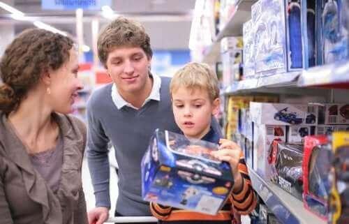 Undgå kompulsiv forbrugerisme hos børn