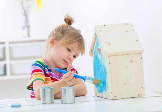 Aktiviteter for børn derhjemme