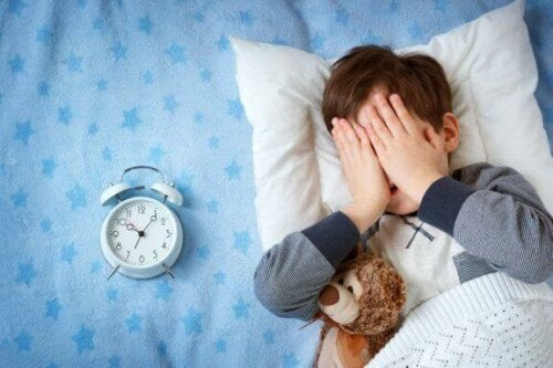 Mit barn er bange for at sove udenfor hjemmet