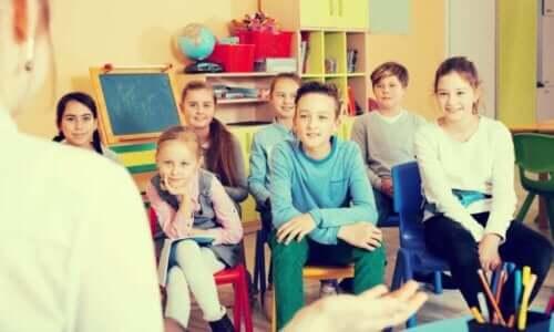 børn til undervisning