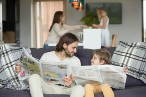 Tips til at være et godt eksempel for børn
