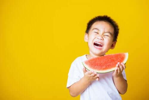 Mit barn er bange for at blive kvalt i sin mad