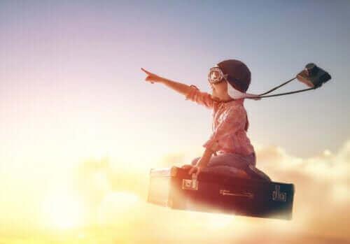 Barn flyver mod frihed