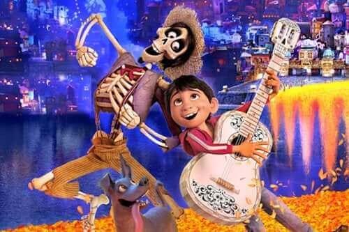 Scene fra Coco-film